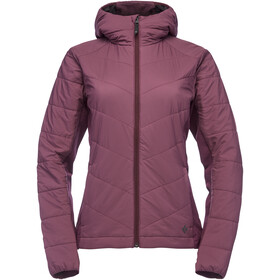 Black Diamond Aspect Wool Hoody Dam Plum